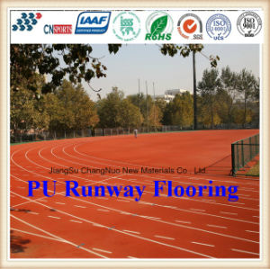 Cn-S05 Abrasion and Skid Resistant PU Runway Flooring pictures & photos
