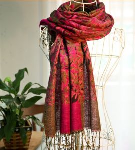 High Quality Long Style Custom Women Winter Fashion Scarf pictures & photos