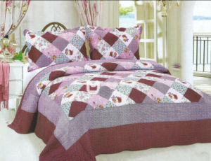 Patchwork Bedding Set pictures & photos