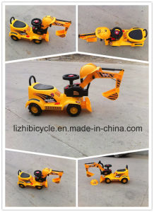 Baby Electric Excavator, Baby Electric Bulldozer pictures & photos