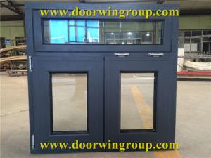 Solid Oak Wood Aluminum Outward Opening Casement Window pictures & photos