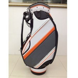 R Classic Golf Caddie Bag Professional Standard Bag PU pictures & photos