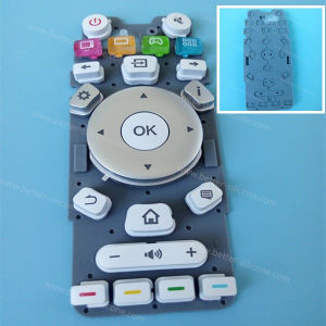 Custom Silicone Keyboard Cover for Button Pad pictures & photos