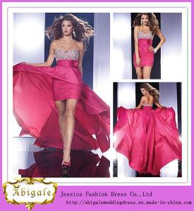 Custom Made Top Sale Sweetheart Beaded Flower Detachable Skirt Prom Dresses (SR40) pictures & photos