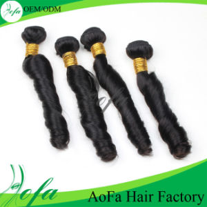 "18"" Spring Curl Virgin Remy Hair Products Human Hair Extension pictures & photos"