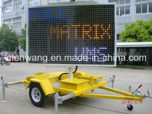 Vms Trailer LED Sign Gw-Vm400c5 Color pictures & photos
