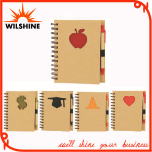 Custom Notebook with Paper Pen for Promotion (SNB116) pictures & photos