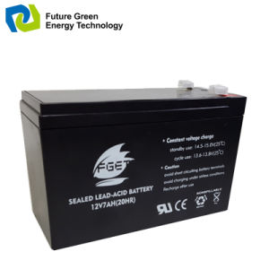 Wholesale 12V7ah Lead Acid EV Battery for Motorcycle pictures & photos