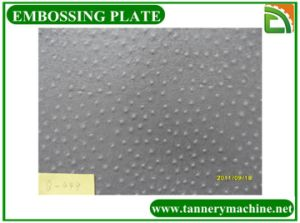 Dch Ostrich Leather Embossing Plate for Embossing Machine