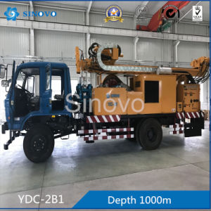 YDC-2B1 Full Hydraulic Mobile Drill for Diamond Bit Drilling pictures & photos