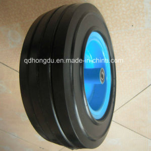 Heavy Duty 12 Inch Solid Rubber Wheel pictures & photos