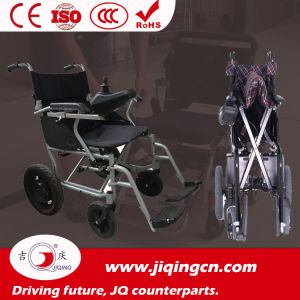 Safety Load Capacity 110kg Electric Wheelchair with Ce pictures & photos