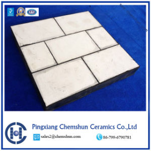 Manufacturer Supply Alumina Ceramic Rubber Liner for Wear Protection pictures & photos