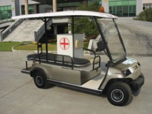 2 People Electric Ambulance Car for Hospital Transportation pictures & photos