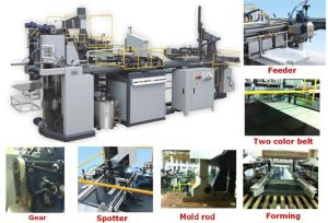 Hm-Zd600 Automatic Paper Box Maker for Chocolate Box