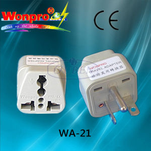 Universal Adaptor WA-21 (Socket, Plug) pictures & photos
