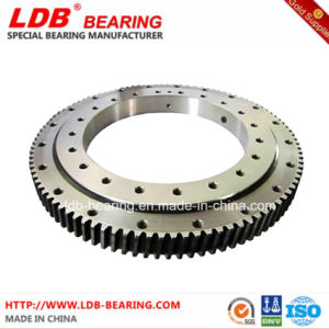 Single-Row Four Point Contact Slewing Ball Bearing with Internal Gear 9I-1b35-1170-1266 pictures & photos