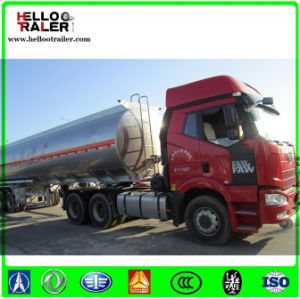 45cbm Aluminum Alloy Fuel Tanker Trailer pictures & photos