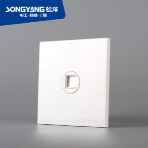 Electric Switch White Series TV Wall Socket