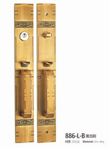 Luxury Beautiful Zinc Alloy Villa Big Size Door Lock (886-L DYB) pictures & photos