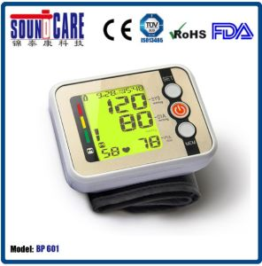 New Arrival! Digital Wrist Digital Blood Pressure Monitor with ABS Case (BP 601) pictures & photos