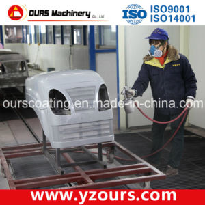 Manual Powder Coating Line for Tractor Production pictures & photos