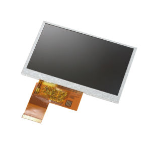4.3inch 480X272 40pin RGB TFT LCD Screen with Driver IC Hx8257A 320CD Luminance pictures & photos