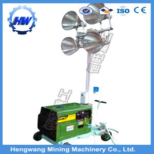 Hot Sale & Good Quality 5kw Metal Halide Mobile Light Tower pictures & photos