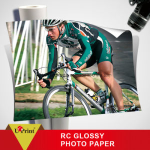 Factory Supplier RC High Glossy Photo Paper RC Photo Paper pictures & photos