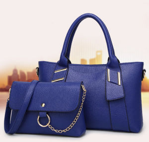 Leather Bags 2 Sets Handbags Set Fashion Tote Lady Bags pictures & photos