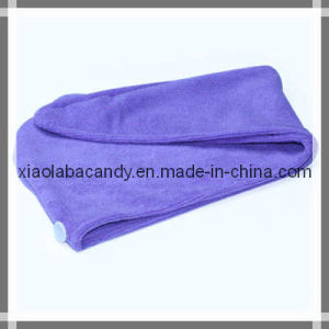 Violet Hair Drying Wrap Towel Ultra Absorbent