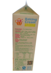 3-Layer 907g Gable Top Carton for Baking Cream pictures & photos