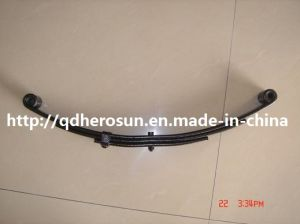 Small Trailer Leaf Springs with Double Eyes pictures & photos