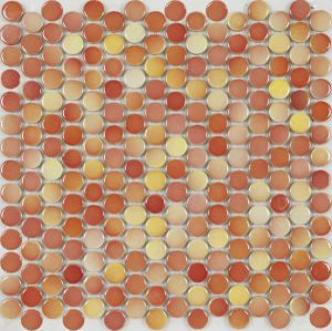 Normal Glazed Ceramic Mosaic Tile (D19TV955)