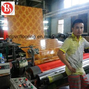 0.7mm Non-Woven Backing PVC Flooring Rolls Wholesale, Linoleum Flooring Rolls pictures & photos