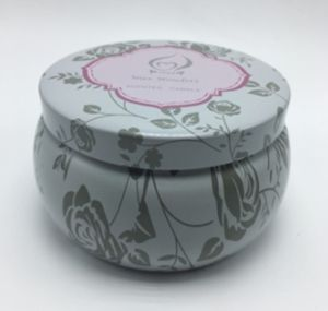 Scented Tin Jar Soy Wax Candle with Professional Design pictures & photos