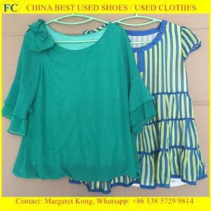 The Best Selling Used Clothes/Ladies Silk Blouses (FCD-002) pictures & photos