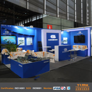 Custom Design Wood Trade Fair Stand in Shanghai pictures & photos