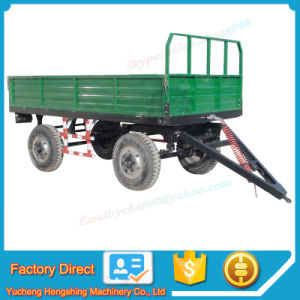 Agricultural Implement 6t Farm Trailer Mounted Sjh Tractor pictures & photos