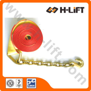 Winch Strap with Chain Anchor Assembly pictures & photos