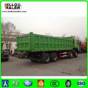 Cnhtc 30 Ton Sinotruk HOWO Dump Truck 8X4 Left Hand Driving Heavy Duty Sand Tipper Truck for Sale pictures & photos