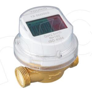 Single Jet Dry Type Vane Wheel LCD Reading Water Meter