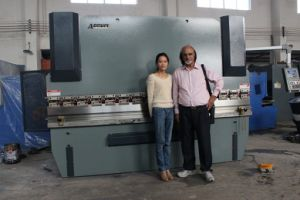 Hydraulic Press Brake Machine, CNC Hydraulic Press Brake pictures & photos