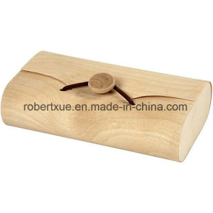 Wooden Cylinder Pen Box, Cheap Wooden Simple Candle Box pictures & photos