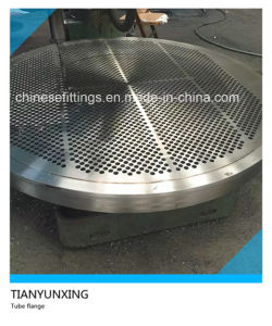 Pressure Tank Stainless Steel A182 Flange Tube Sheet pictures & photos