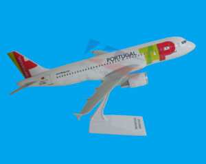 ABS Material Scale 1:100 A320 Airplane Model pictures & photos