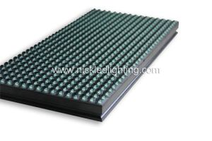 Outdoor P10 Green Color LED Module Advertising LED Display pictures & photos