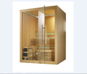 Luxury Dry Sauna Room with Finland Sauna Stove (M-6030) pictures & photos