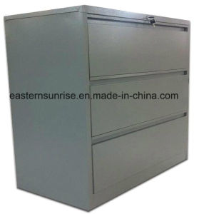Office Furniture Three Drawers Matel Steel Iron Storage Cabinet pictures & photos