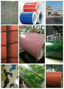 China High Quality Hot Sale Cold Rolled Steel Coil in PPGI PPGL Steel pictures & photos